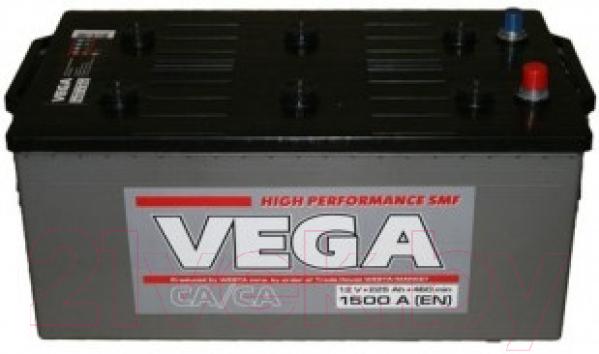 Купить Автомобильный аккумулятор VEGA, 6СТ-225е (225 А/ч), Украина