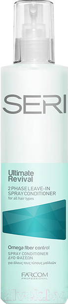 Купить Кондиционер-спрей для волос Farcom, Professional Seri Ultimate Revival двухфазный (300мл), Греция, Seri (Farcom)