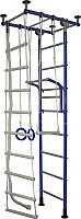 Детский спортивный комплекс Крепыш Г-образный (синий) -