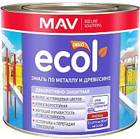 Эмаль MAV Ecol ПФ-115 (2кг, шоколадный) -