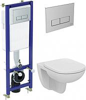 Унитаз подвесной с инсталляцией Ideal Standard Tempo W990101 -