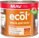 Эмаль MAV Ecol ПФ-266 (2кг, светло-коричневый) -