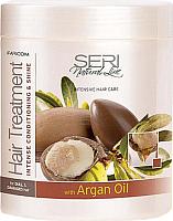 Маска для волос Farcom Professional Seri Natural Line интенсив. кондициониров. и сияние (1л) -
