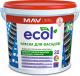 Краска MAV Ecol ВД-АК-1032 фасадная (1л, белый) -