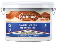 Клей Krafor КС Универсальный Термостойкий (18кг) -