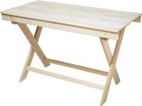 Стол для бани Парилочка Раскладной 1400x760x600 -