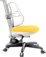 Кресло растущее Comf-Pro Conan (желтый, с чехлом) -