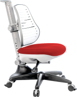 Кресло растущее Comf-Pro Conan (красный, с чехлом) -