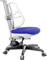 Кресло растущее Comf-Pro Conan (васильковый, с чехлом) -