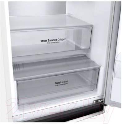 Холодильник с морозильником LG DoorCooling+ GA-B459MQQM