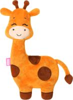 Игрушка-грелка детская Мякиши Жираф с вишневыми косточками / 650 -