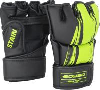 Перчатки для рукопашного боя BoyBo Stain (L, зеленый) -