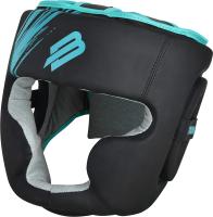Боксерский шлем BoyBo Stain (L, голубой) -