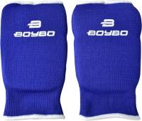 Перчатки для карате BoyBo Хлопок (M, синий) -