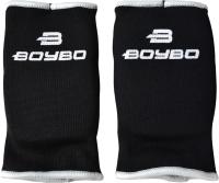 Перчатки для карате BoyBo Хлопок (M, черный) -
