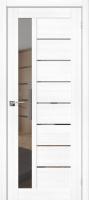 Дверь межкомнатная el'Porta Эко Порта-27 70x200 (Snow Veralinga/Mirox Grey) -