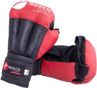 Перчатки для рукопашного боя RuscoSport Красные (р-р 4) -