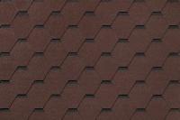 Черепица Roofshield Фемили Лайт Стандарт коричневый с оттенением / FL-S-02 (3м2) -