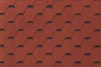 Черепица Roofshield Фемили Лайт Стандарт красный с оттенением / FL-S-09 (3м2) -