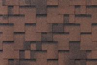 Черепица Roofshield Фемили Эко Лайт Модерн коричневый с оттенением / FL-М-49 (3м2) -