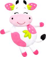 Игрушка-грелка детская Мякиши Клубничная Корова с вишневыми косточками / 647 -
