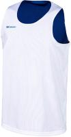 Майка баскетбольная 2K Sport Training / 130062 (XS, белый/синий) -