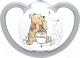 Пустышка NUK Space Disney Ортодонтической формы / 10736611 (р.2, силикон) -