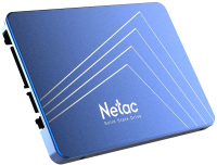 SSD диск Netac N600S 2.5 SATAIII 256GB (NT01N600S-256G-S3X) -