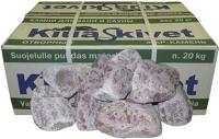 Камни для бани No Brand Малиновый кварцит обвалованный мелкий (20кг) -