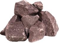 Камни для бани No Brand Малиновый кварцит колотый крупный (20кг) -