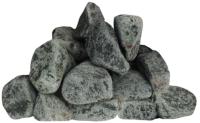 Камни для бани No Brand Габбро-диабаз обвалованный крупный (20кг) -