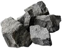 Камни для бани No Brand Габбро-диабаз колотый крупный (20кг) -