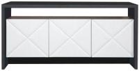Тумба Мебель-КМК 3Д Монако 1 0673.9 (графит/дуб полярный) -
