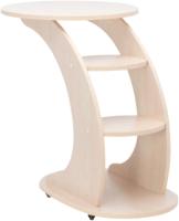 Приставной столик Импэкс Стелс (молочный дуб) -