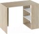 Письменный стол ТриЯ Тип 6 (дуб сонома/белый ясень) -