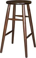 Табурет барный Экомебель Дубна Модерн высокий 42x42x74 (темный орех) -