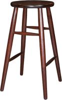 Табурет барный Экомебель Дубна Модерн высокий 42x42x74 (махагон) -