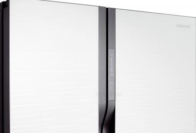 Холодильник с морозильником Samsung RS552NRUA1J/WT - управление