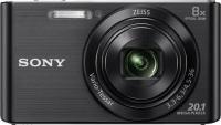 Компактный фотоаппарат Sony Cyber-shot DSC-W830 (черный) -
