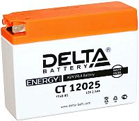 Мотоаккумулятор DELTA AGM СТ 12025 / YTX4B-BS (2.5 А/ч) -
