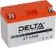 Мотоаккумулятор DELTA AGM СТ 1209 YTX9-BS / YTX9 (9 А/ч) -