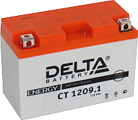 Мотоаккумулятор DELTA AGM СТ 1209.1 / YT9B-BS (9 А/ч) -