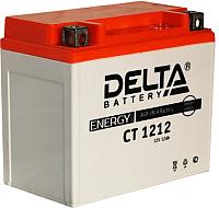 Мотоаккумулятор DELTA AGM СТ 1212 YTX14-BS / YTX12-BS (12 А/ч) -