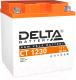 Мотоаккумулятор DELTA AGM СТ 1230 YIX30L / YIX30L-BS / YB30L (30 А/ч) -