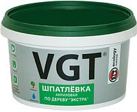Шпатлевка VGT Экстра по дереву (300г, махагон) -