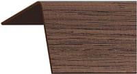Уголок отделочный Rico Moulding 176 Венге с тиснением (20x20x2700) -