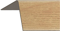 Уголок отделочный Rico Moulding 118 Орех Грецкий (20x20x3000) -