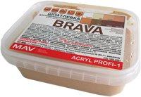 Шпатлевка MAV Brava Profi-1 по дереву (300г, белый) -