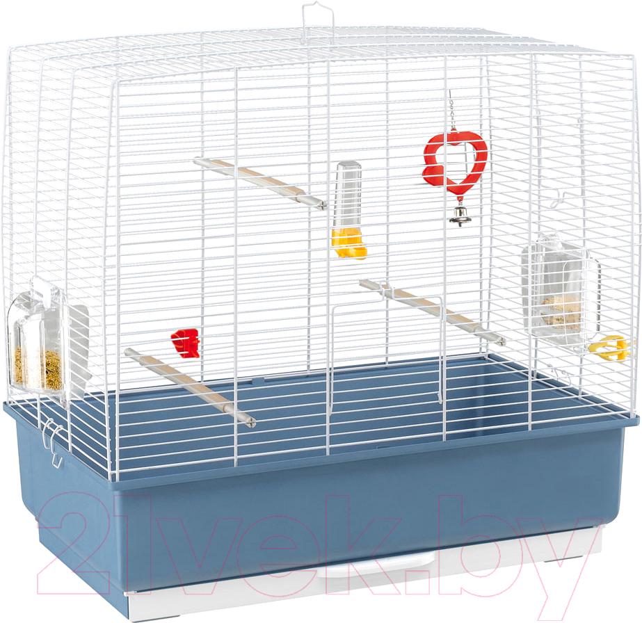 Купить Клетка для птиц Ferplast, Rekord 4 / 52003814 (белый), Италия