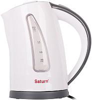 Электрочайник Saturn ST-EK8425 (белый/серый) -